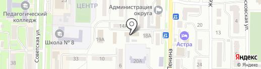 Мемориал на карте Белово
