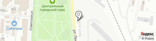 Изопласт на карте Белово