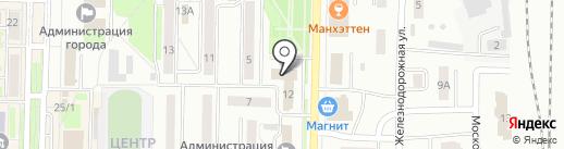 Ростехнадзор, Сибирское Управление Федеральной службы по экологическому на карте Белово