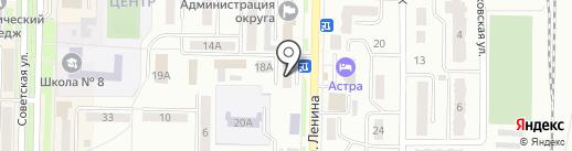 Комильфо на карте Белово