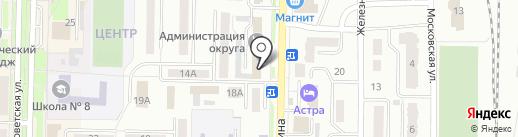 Росбанк, ПАО на карте Белово