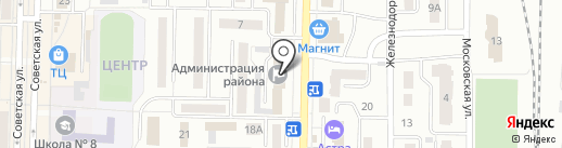 Управление социальной защиты населения Администрации Беловского муниципального района на карте Белово