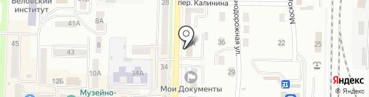 Беловский районный суд Кемеровской области на карте Белово