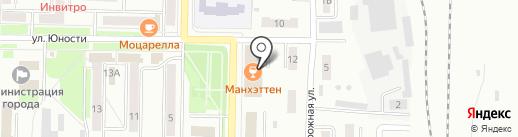 Strike на карте Белово