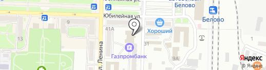 Союз ломбардов на карте Белово