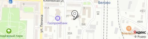 Автомойка на карте Белово