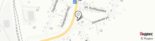 Колесо на карте Белово