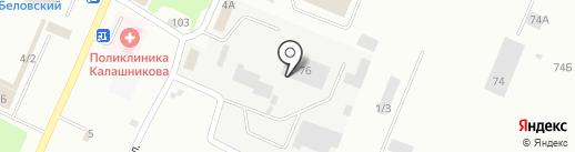 Восточная Техника на карте Белово