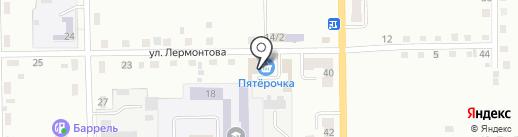 Банкомат, Сбербанк России на карте Белово