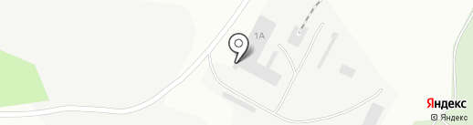 Беловский завод сборного железобетона на карте Белово