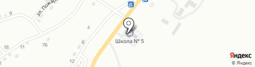 Библиотека №12 на карте Белово