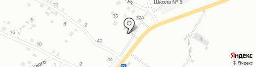 Родной на карте Белово