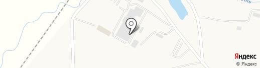 Моховский угольный разрез на карте Мохово