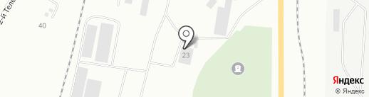Компания РОСА на карте Белово