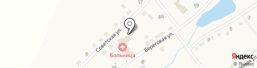 Приход церкви Святой Троицы на карте Новобачатов