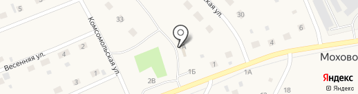Продуктовый магазин на карте Мохово