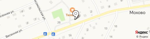 Магазин разливных напитков на Комсомольской на карте Мохово