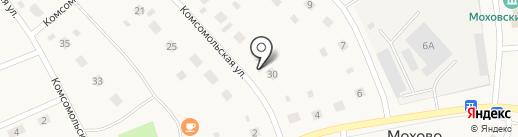 Беловское, ПО на карте Мохово