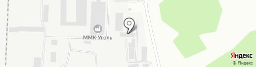 Белон на карте Белово