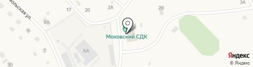 Центральная районная библиотека на карте Мохово