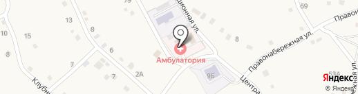 Врачебная амбулатория на карте Мохово