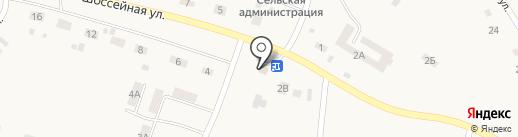 Сеть продовольственных магазинов на карте Мохово