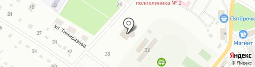 Библиотека №2 на карте Белово