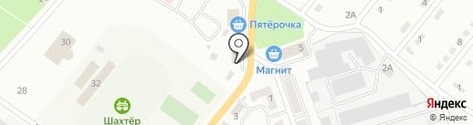 Магазин цветов на карте Белово