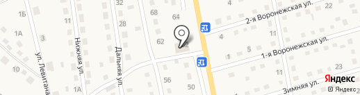 Продуктовый магазин на карте Грамотеино