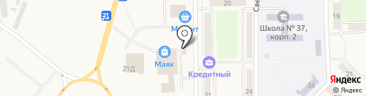 Новосибирская птицефабрика-Кузбасс на карте Грамотеино