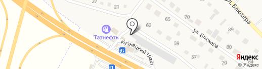Автокомплекс на карте Грамотеино
