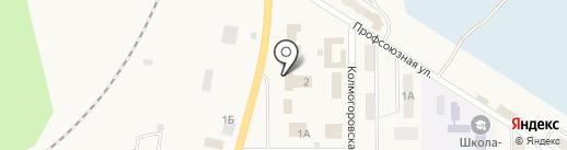 Адель на карте Грамотеино