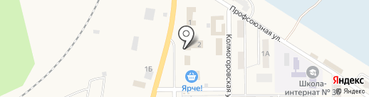 Парикмахерская на карте Грамотеино
