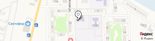 Центр Социальной помощи семье и детям Беловского городского округа, МКУ на карте Грамотеино