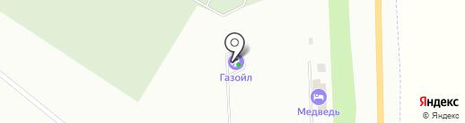 АГЗС Газойл на карте Белово
