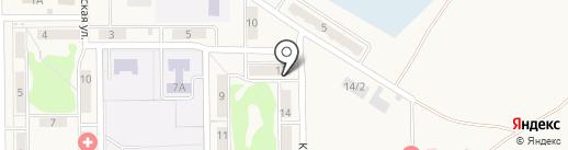 Аптеки Кузбасса на карте Грамотеино
