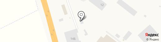 Транзит на карте Инского