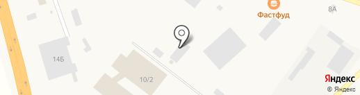 Инское ремонтно-техническое предприятие на карте Инского