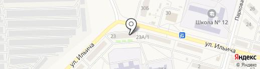 АвтоУют на карте Инского