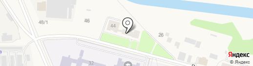 Общежитие на карте Инского