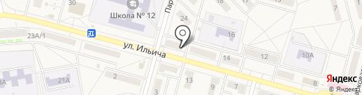 Продуктовый магазин на карте Инского