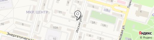 Арт Лайф на карте Инского
