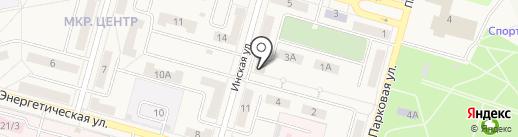 Пур-Пур на карте Инского