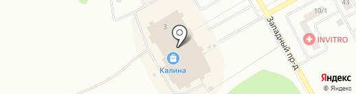 Олимп на карте Киселёвска