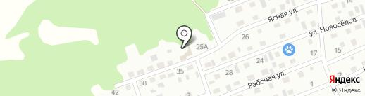 Hino на карте Киселёвска