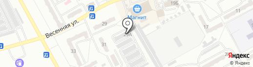 Евростиль на карте Киселёвска