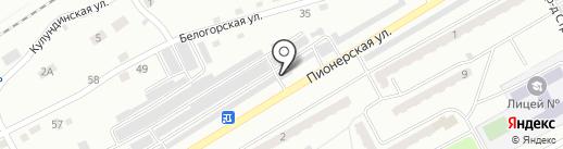 Шиномонтажная мастерская на карте Киселёвска