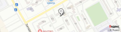 Строящиеся объекты на карте Киселёвска