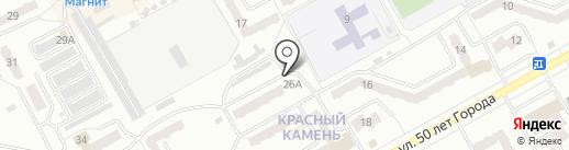 7 сов на карте Киселёвска