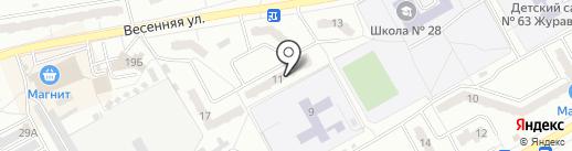 ВЕКТОР-К на карте Киселёвска